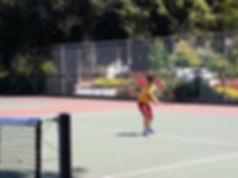 Kids tennis class lesson in San Jose CA