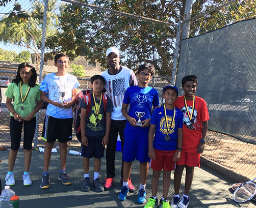 Kids Tennis Coach in San Jose CA, children Tennis Class