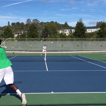 Kids children tennis lesson class in Sunnyvale CA