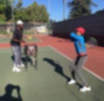 Kids Junior tennis class in Sunnyvale CA