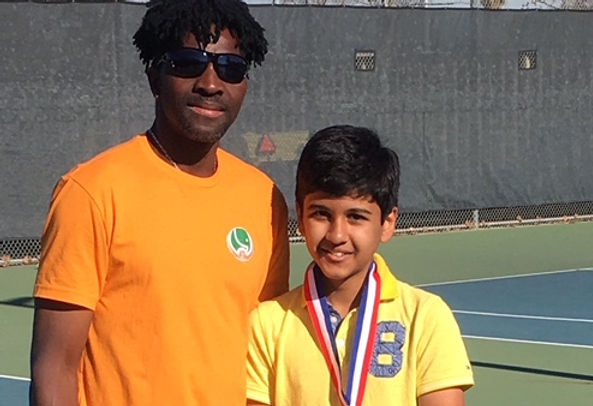 children kids tennis coach in Sunnyvale CA