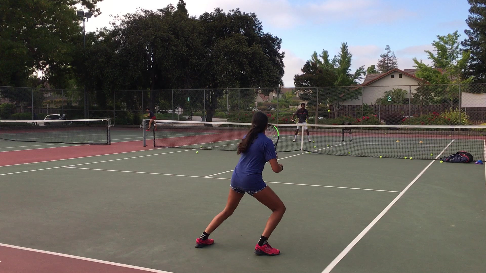 Rallying: Tennis Lesson