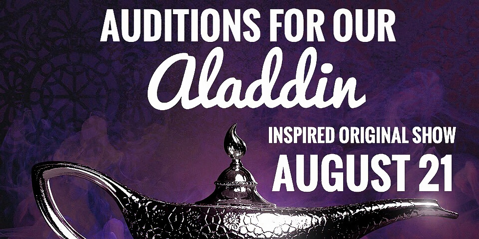 Aladdin AUDITIONS