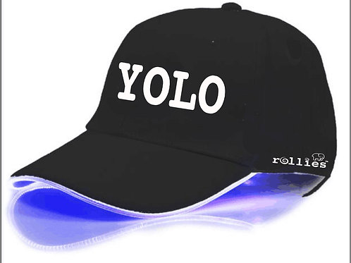 yolo hat led