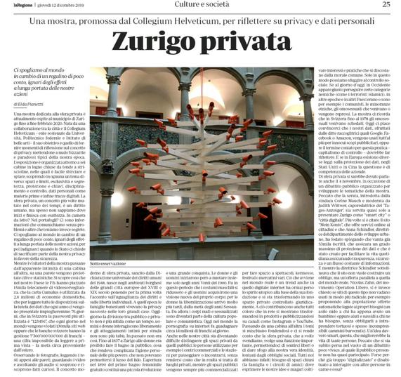 12.12.19 Zurigo privata