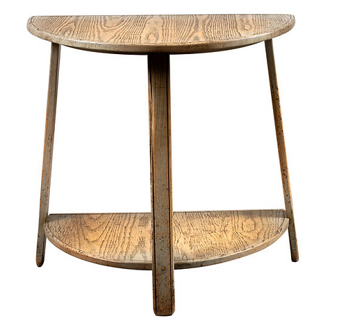 Small Demi Lune Cider Mill Console