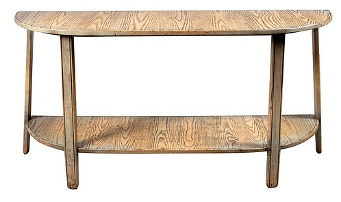 Large Demi Lune Cider Mill Console