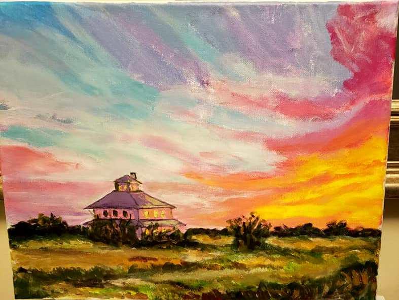 Pink House at Sunset.jpg