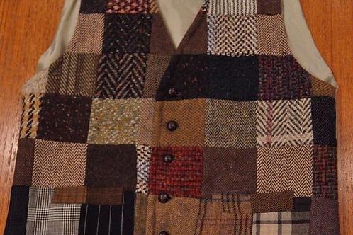 Panciotto Kensington patchwork lana