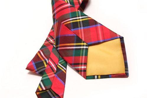 Cravatte scozzesi seta