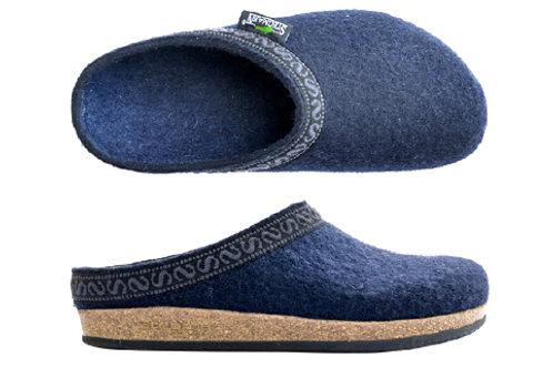 Pantofola feltro lana e sughero Stegmann
