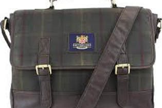 Cartella British Bag Company canvas impermeabile
