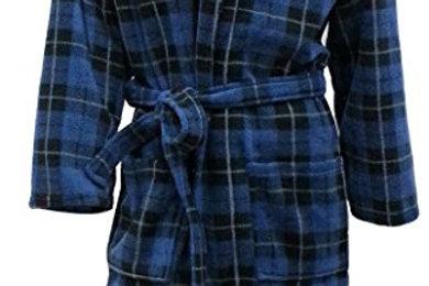 Vestaglia scozzese Guenzati lana pettinata