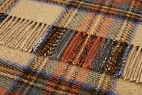 Plaid scozzesi lambswool 130x180 John Hanly