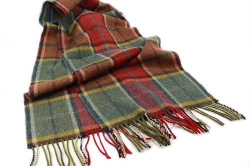 Sciarpa tartan irlandesi lambswool 30x150 John Hanly