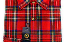 Camicia scozzese Viyella cotone-lana