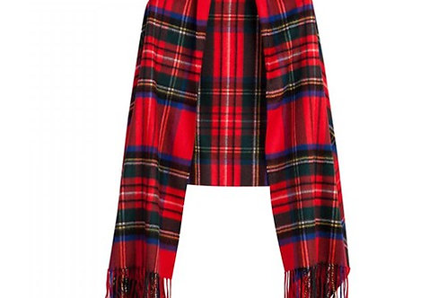 Stola scozzese lambswool 70x180 Bronte Tweed
