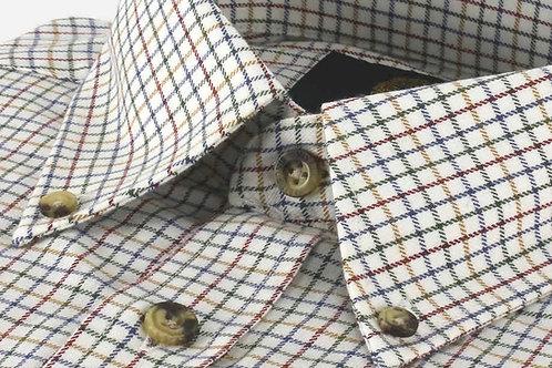 Camicia quadretti Viyella cotone-lana