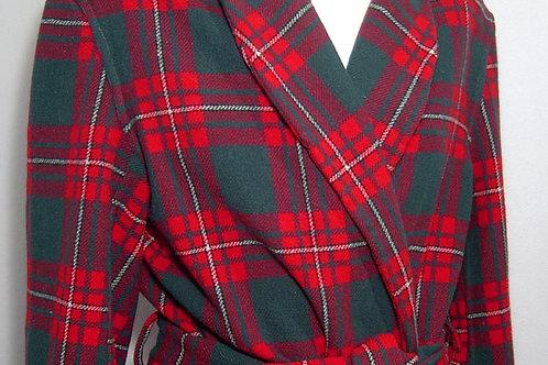 Vestaglia scozzese uomo Guenzati lana pettinata