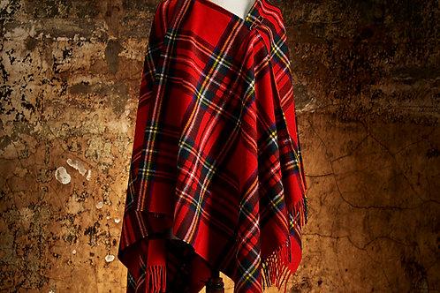 Mantella scozzese lambswool Bronte Tweed