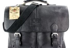 Borsa pelle nera British Bag Company