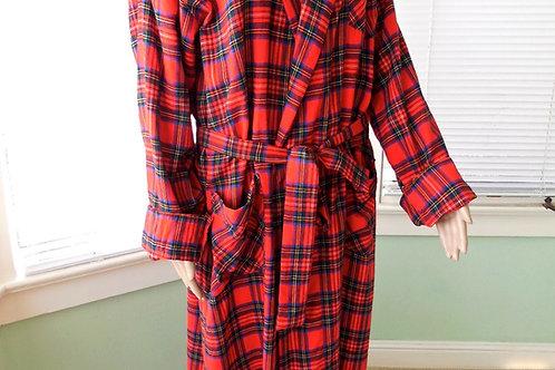 Vestaglia scozzese donna Guenzati lana pettinata