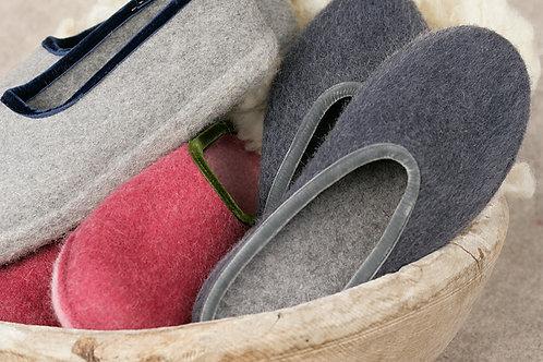 Pantofole di feltro