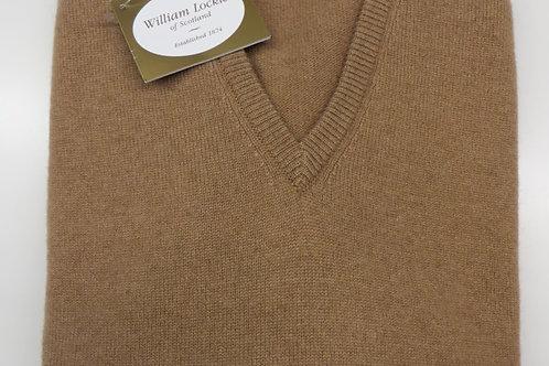 Scollo V / V neck camelhair 2 fili - 2 ply William Lockie