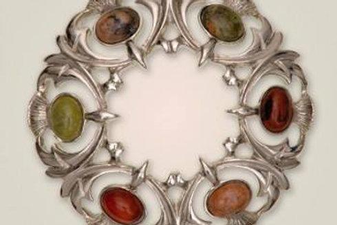 Spille celtiche con pietra 3