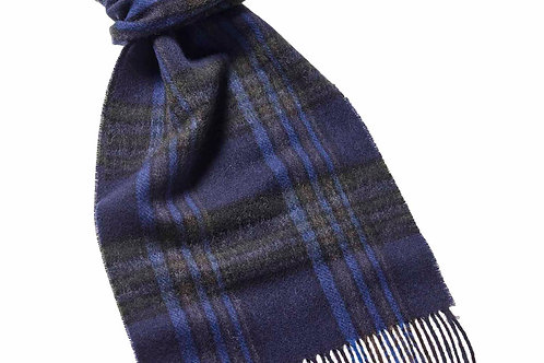 Sciarpa checked lambswool 25x180 Bronte Tweed