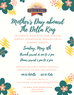 Mother's Day Delta King 2021