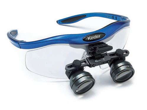 Keeler Standard Magnification Loupes with Frames