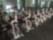 Indoor Cycling Room