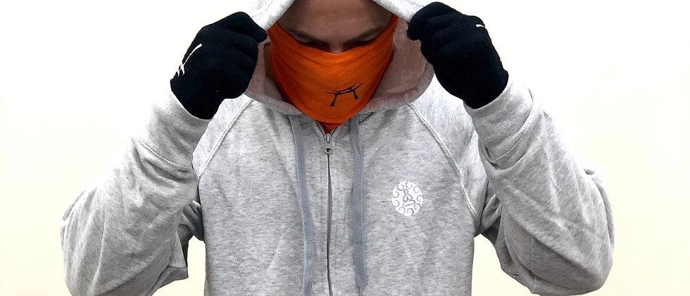 Temple zipper hoodie