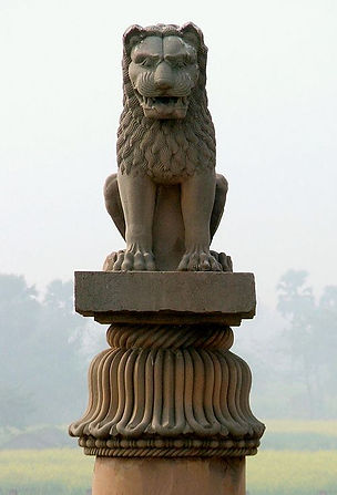 Ashoka_pillar_at_Vaishali,_Bihar,_India_