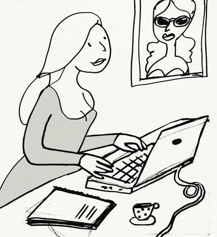 Tochter Adler, digitale Weiterbildung