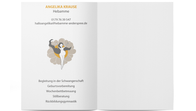 Werbekarte Angelika Krause