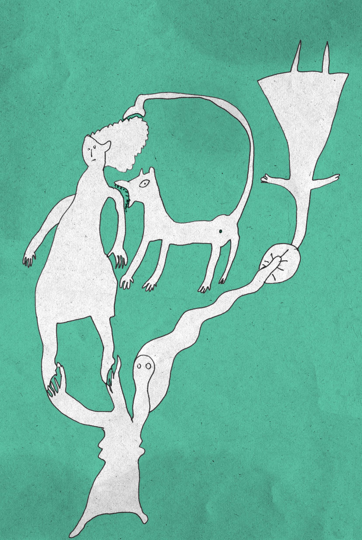 Turnübung mit Haustieren