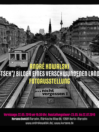 Plakat Kursana-Domizil, Ausstellung