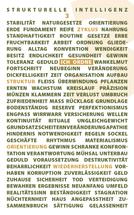 Strukturelle Intelligenz Text