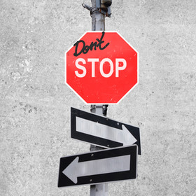 I'm stopping stopping