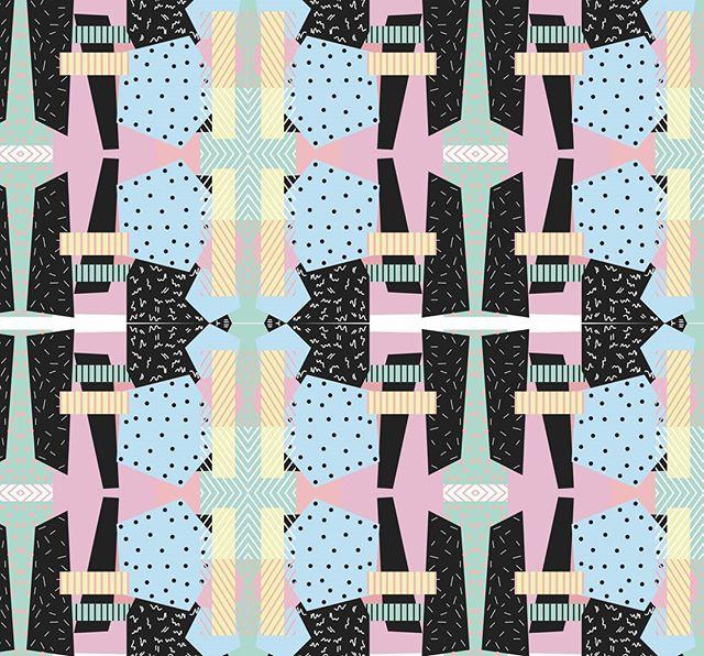 Axes de symétrie!  #pastelcolor #blue #p