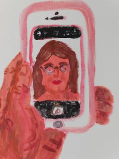 Selfie portrait, 2019 (Detail)