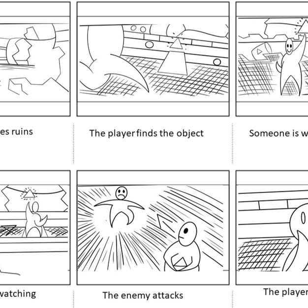 Gameplay loop storyboard 2