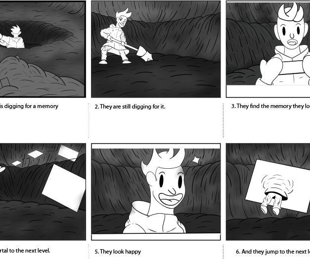 Gameplay loop storyboard 1