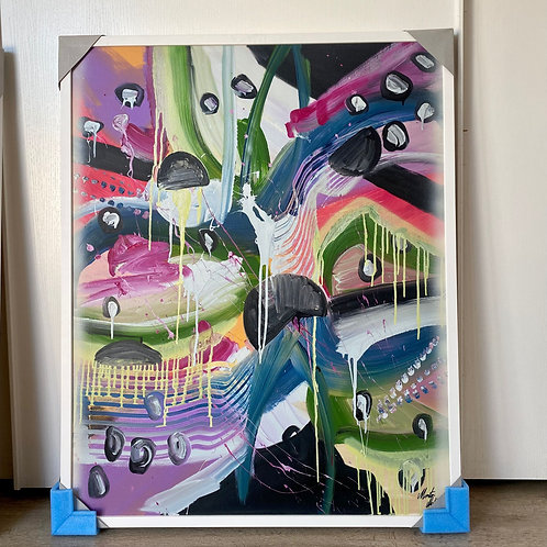 MEDUSE di Mattia Montone 80x100