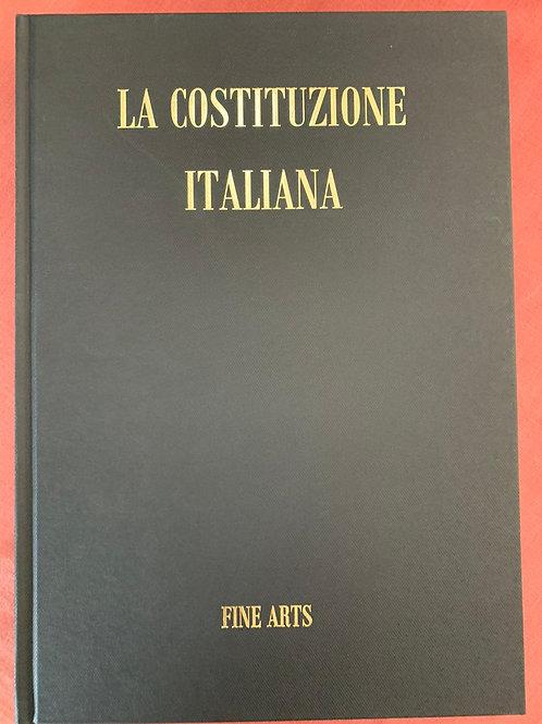 LA COSTITUZIONE ITALIANA Volume Fine Arts