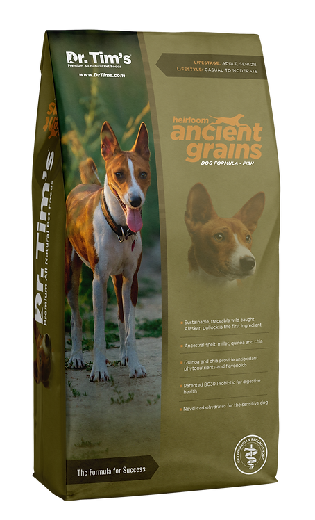 Dr. Tim's Heirloom Ancient Grains - Fish