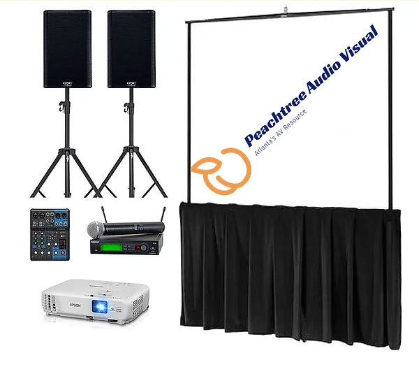 atlanta sound system rental package