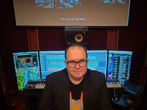 Composer Andy Garfield Returns to Scream n' Stream 2021